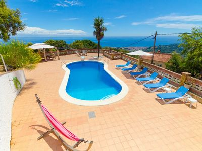 Photo for Club Villamar - Amazing villa with beautiful views over the see,  big  private pool,garden and  n...