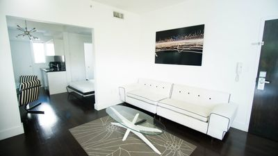 Photo for SoBe 1611 Lincoln Road Apartments Sleeps 8! - Two Bedroom Apartment, Sleeps 8