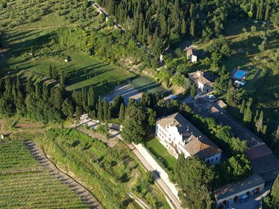 Photo for Villa Sonnino - Beautiful villa with private pool and tennis court, Chianti