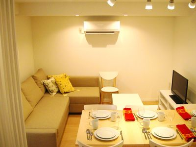 Photo for Shibuya! Elegant 2BR apartment in luxury residential area.