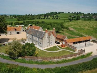 Photo for Stylishly renovated farmhouse with hot tub in rural Somerset