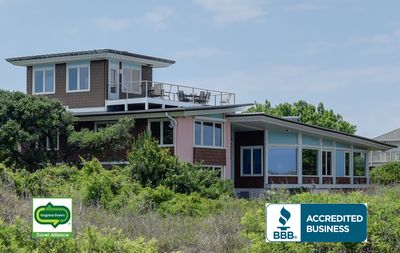 Photo for 5-Star Award Winning Architectural Gem on the Ocean Front available 8/23-9/4