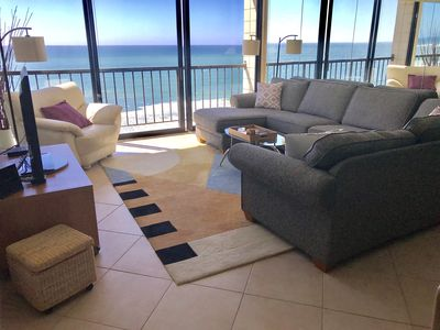 Photo for San Diego Beachfront/Oceanfront: 180 degree oceanfront view!