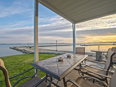 Photo for Beach Club Escape Unit 301 - A Beautiful Lakefront Condo on Grand Lake!
