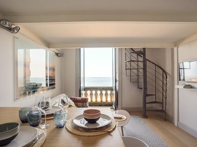 Photo for BREATHTAKING ACCOMMODATION WITH SEA VIEW