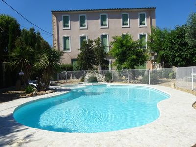 Photo for DUPLEX IN ANCIENT MASTER'S HOUSE WITH SWIMMING POOL, PARKING, BEACHES 8 Km