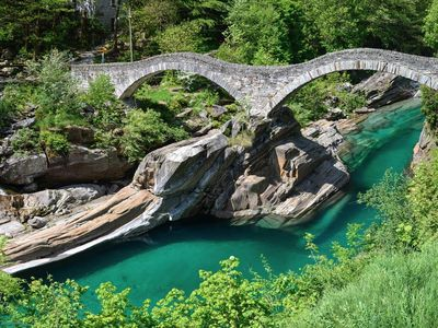 Photo for House in the Verzasca Valley, near the river, ideal for families and hikers