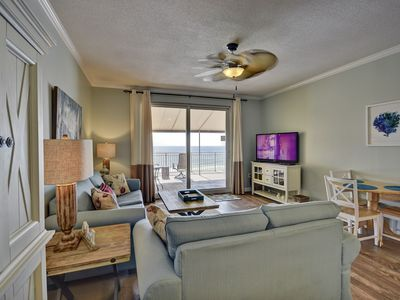 Photo for 102 Sterling Reef 1st Floor Gulf Front 2bed/2bath unit w/ 2019 Beach Svc!
