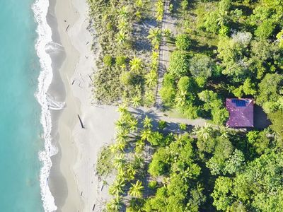 Photo for Beach house in a fabulous site 15 minutes from Puerto Jimenez