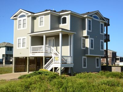 Photo for Less Than 200 Yards To The Beach- Wonderful Ocean Views And Private Pool! - 673