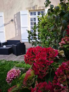 Photo for Cozy apartment on private garden -Centre Bayeux