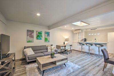Escape to this completely remodeled 1-bedroom vacation rental apartment!