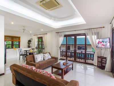 Photo for House with 3 bedrooms and amazing sunset view of the sea near the Karon Beach