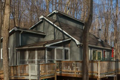 Treetop Cottage 4 br, 2 bath. Sleeps 10.Berkeley Springs.