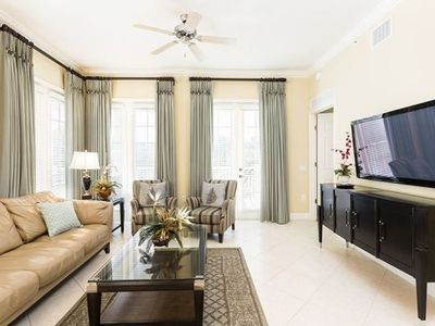 Photo for Pool View Luxury Condo In Reunion Resort Minutes to Disney!
