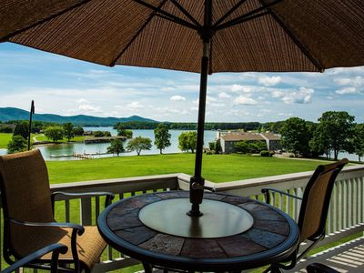 Photo for Romantic Lakefront Getaway with Beautiful View