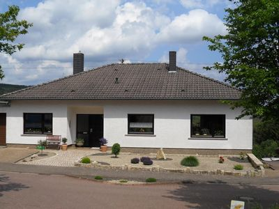 Photo for quietly located apartment, 3 km from barrier lake Losheim, pets are welcome