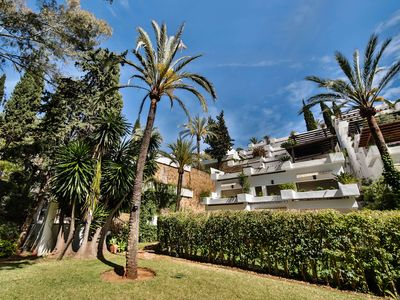 Photo for Luxury 3 Bed Garden Duplex with  private Jacuzzi, Marbella near Puerto Banus