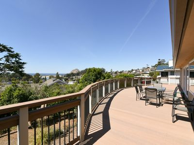 Photo for Fall Special Savings! Morro Bay Heights Home with Amazing Ocean and Rock View!