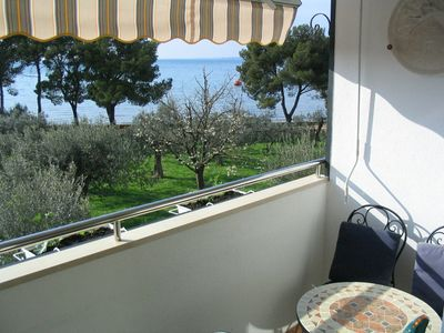 Photo for Apartment Oliva 4+1 sea view, 50m from the beach