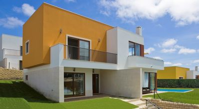 Photo for Stylish Villa - private pool - sweeping views - wi-fi - golf/beach in 5 minutes