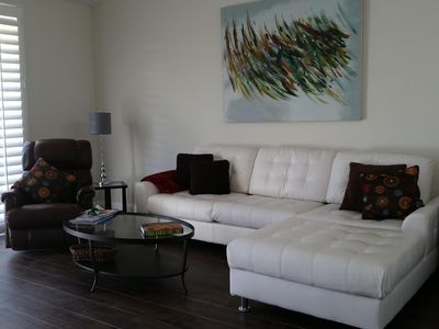 Photo for Heart Of Palm Springs, spacious, comfortable and beautifully landscaped.