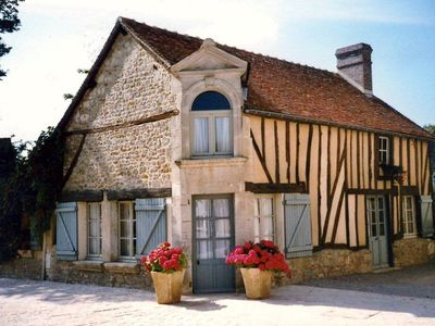 Photo for Charming half-timbered house, 17th century