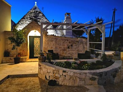 Photo for TRULLO MADIA With SHARED JACUZZI for a memorable stay in nature and relax