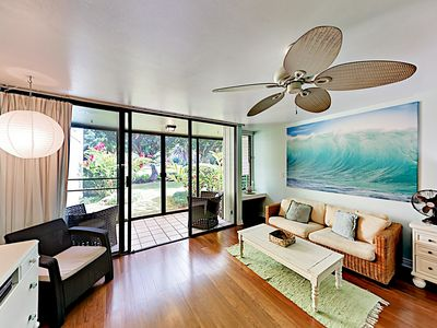 Photo for Stylish Condo w/ Pool & Screened Patio - Minutes from Turtle Bay Beach!