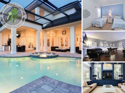 Photo for Wynstone Elegance | Screened Pool, Summer Kitchen & Games Room
