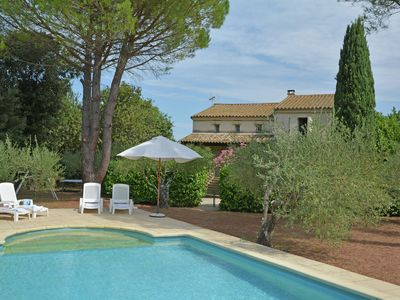Photo for beautiful villa, private swimming pool, 8km from Uzès