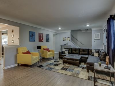 Photo for Z-On Maple -NEW Spacious & Modern 5 Star Stay Minutes To Birmingham & Royal Oak