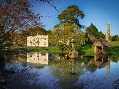 Photo for Stunning Georgian Country House With Private Pool, Lake And Chapel Ruin
