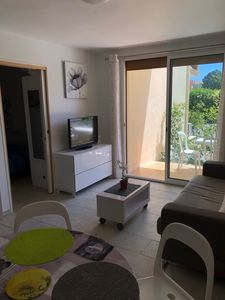 Photo for T2 furnished 100 m from the beach of Frejus