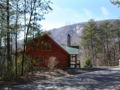 Photo for Log Home with Beautiful Bald Mountain Views