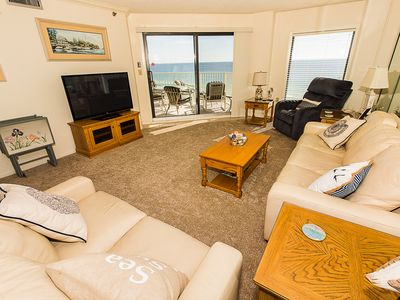 Photo for Recently Renovated 2 BR - Gulf Front - amazing views