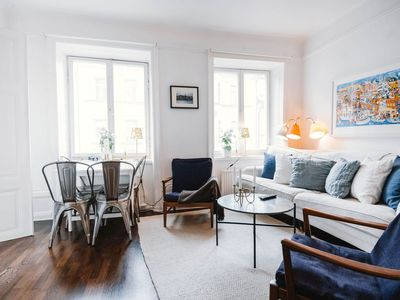 Photo for 1BR Apartment Vacation Rental in Stockholm, Stockholm County