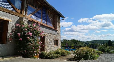 Photo for Rural Gite With Large Heated Swimming Pool And Children's Play Area In Rouede.