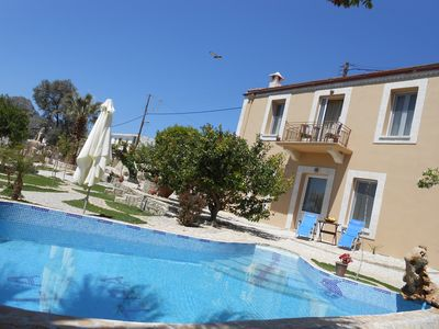 Photo for Private paradise with heated pool, wonderful view and large garden