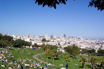 Dolores Park just 10 minutes walk from your door