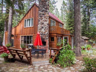 Photo for Honeymoon Cottage, Tahoe City, West Shore, Hot Tub, Dog Friendly