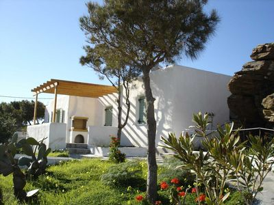Photo for Detached landhouse 60 M2 with panoramic view and shared pool , good for 4 poeple
