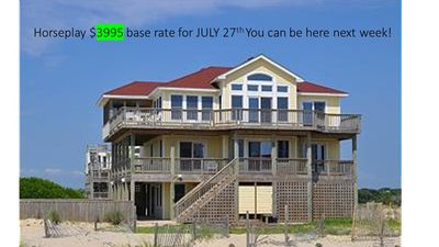 Photo for July 27th week just reduced to $3995! 4x4 GORGEOUS views! FREE parking passes
