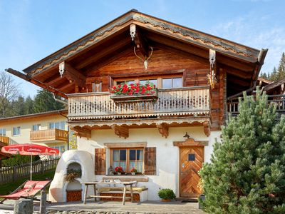 Photo for rustic 4 * Almchalet for 4-6 people near the village of Flachau