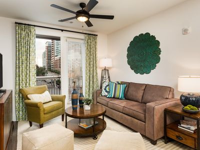 Photo for Spirited 2BR w/ Pool in Heart Of Music Row