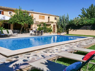 Photo for Country-style generous Finca near Pollença for up to 12 guests