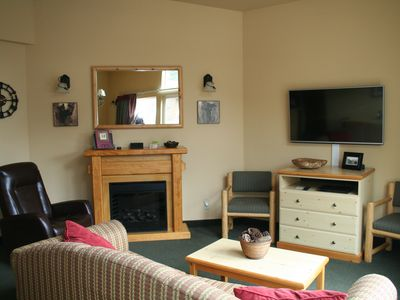 Photo for Icicle Village Resort, Luxury Queen Suite Condo. Just 1/2 mile from down town