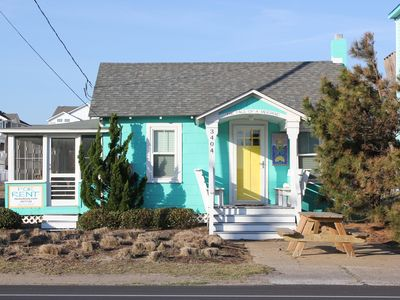 Photo for Circa 1953 beach cottage...this is 'old school' beach at it's best!