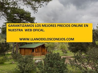 Photo for Cabin or bungalow El Llano de los Conejos for 2 people