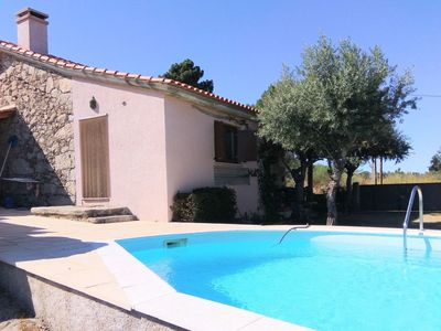 Photo for Stunning private villa for 6 people with WIFI, private pool, TV, pets allowed and parking